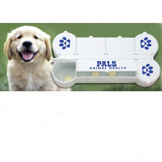Dog Bone Pill Box