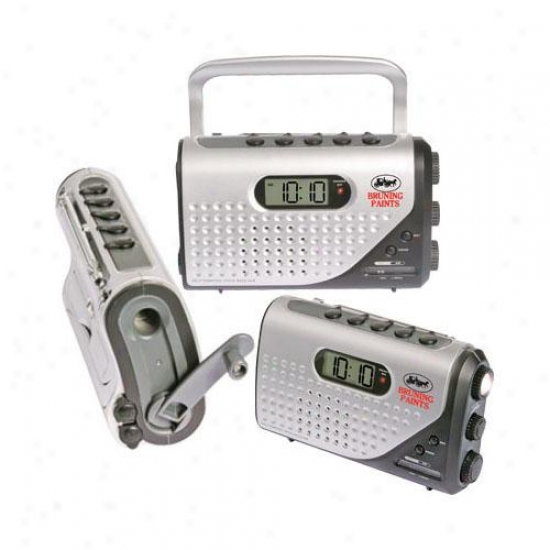 Dynamo Powered Am Fm Alarm Clock Radio