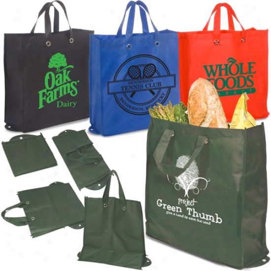 Eco-green Re-usable Shopper - 80gsm
