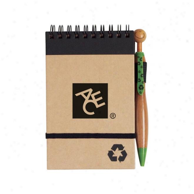 Eco Jotter & Pen Set