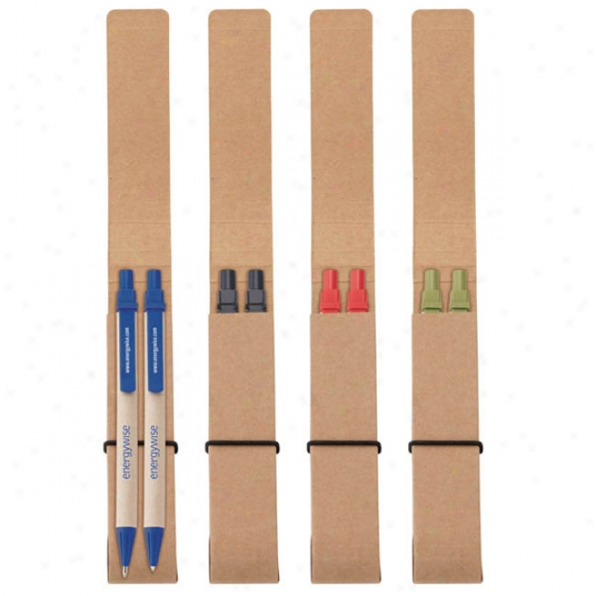 Ecologist Pen & Pencil Set