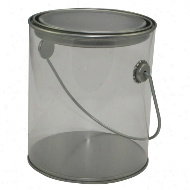 Empty Pail, Ideal Treat Container For Desktops In Any Office!