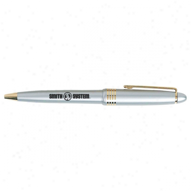 Encore - Trial Cap, Eecutive Clean Design Pen With Medium Ball Point