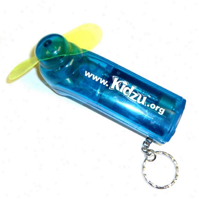 Fan Key Chain - Blue