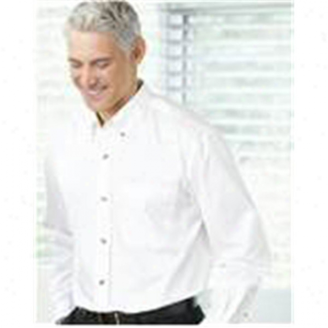Featherlite Long Sleeve Twill Shirt Tall Sizes