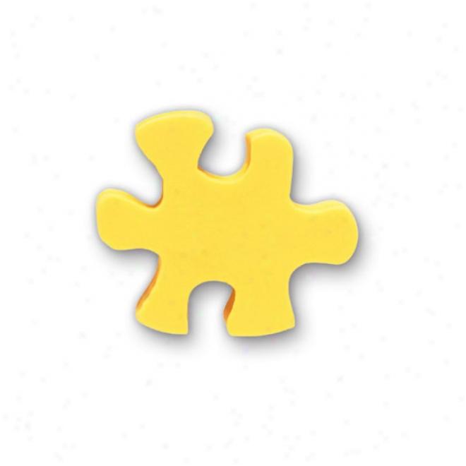 Figurine Stock Eraser- Puzzle Piece