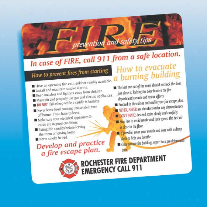 Fire Prevention And Safety Tips - Health And Safety Loadstone