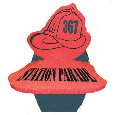 "Fireman""s Helmet Pop-up Visor"