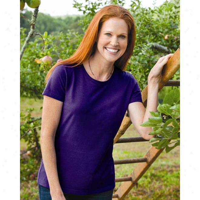 Fruit Of The Loom - Ladies' Heavy Cotton Hd Short Sleeve T-shirt