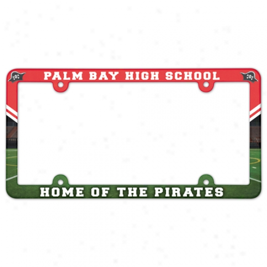 "Full Color Permit Plate Frames - 6 1/4"" X 12 1/4"""