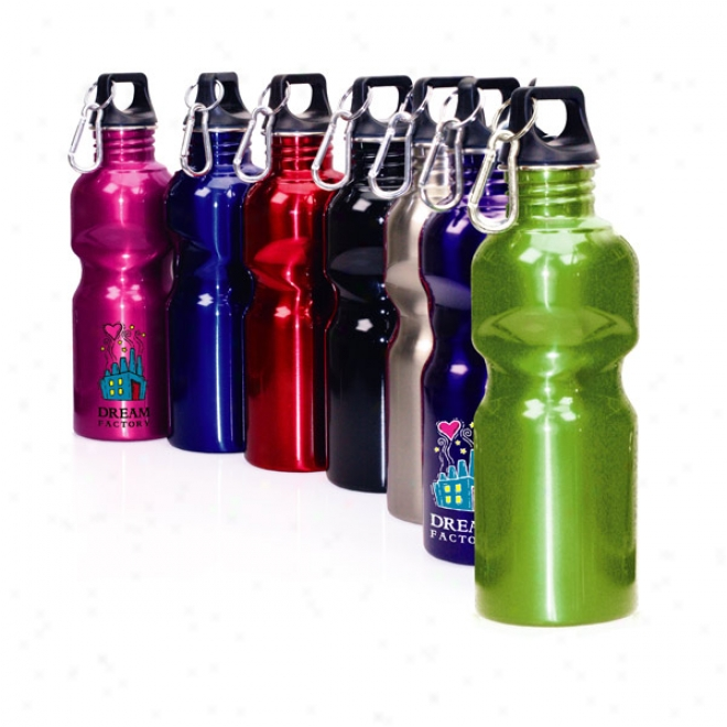 G-sphere 24 Oz Stzinless Bottle With Carabiner