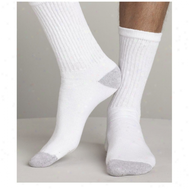Gildan - Men's Crew Socks