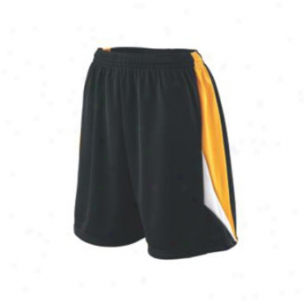 Girls Wicking Duo Knit Attack Short