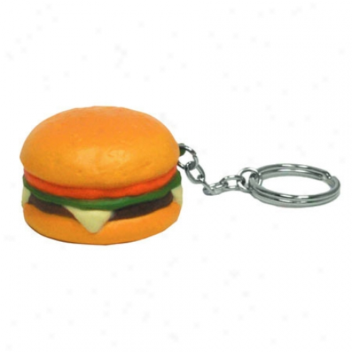 Hamburger Key Chain