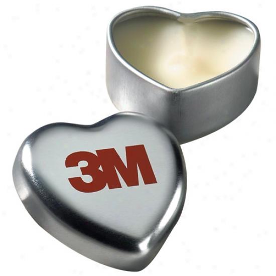 Hearts Lip Balm In Tin