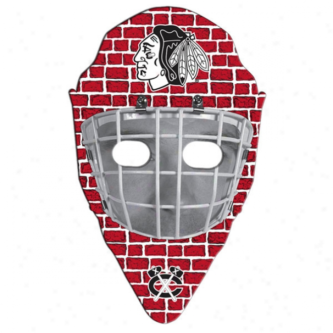 Hockey Mask - Stock Shape Poster Board Lead Excite With A High Gloss Finish