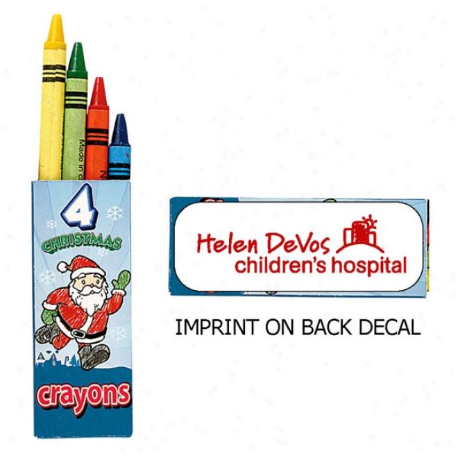 Holiday Crayons