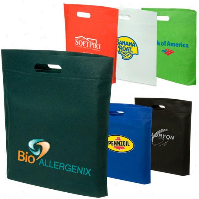 Hot-sealed Shopping Bag - 80gsm