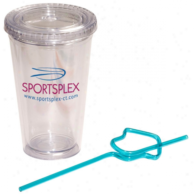House Krazy Straw Sipper