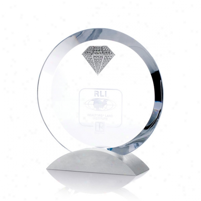 Ice Coroona Optica Couture - Rouund Award On Rounded Base
