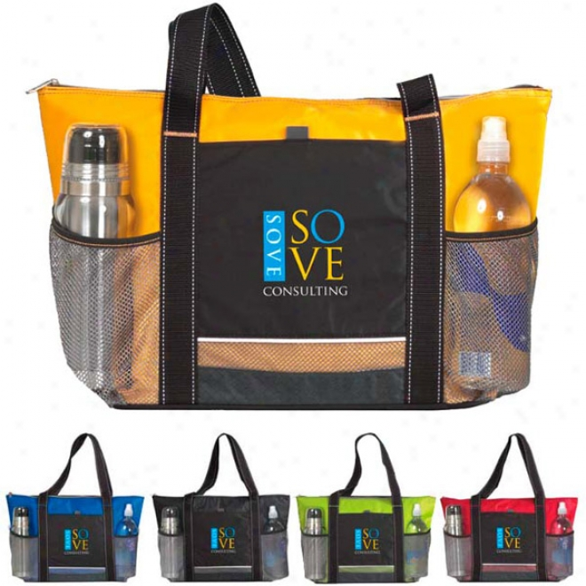 Icy Bright Cooler Tote