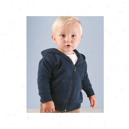 Infant Hooded Zip Front Sweatshirt With Pockets