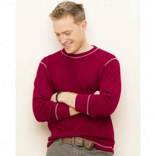 J. America Vintage Long Sleeve Thermal T-shirt