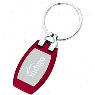Key Tag, Metal With Polished Plate