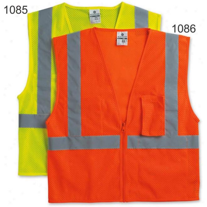 Kishigo Veelcro Utra Cool Mesh Vest With Pockets