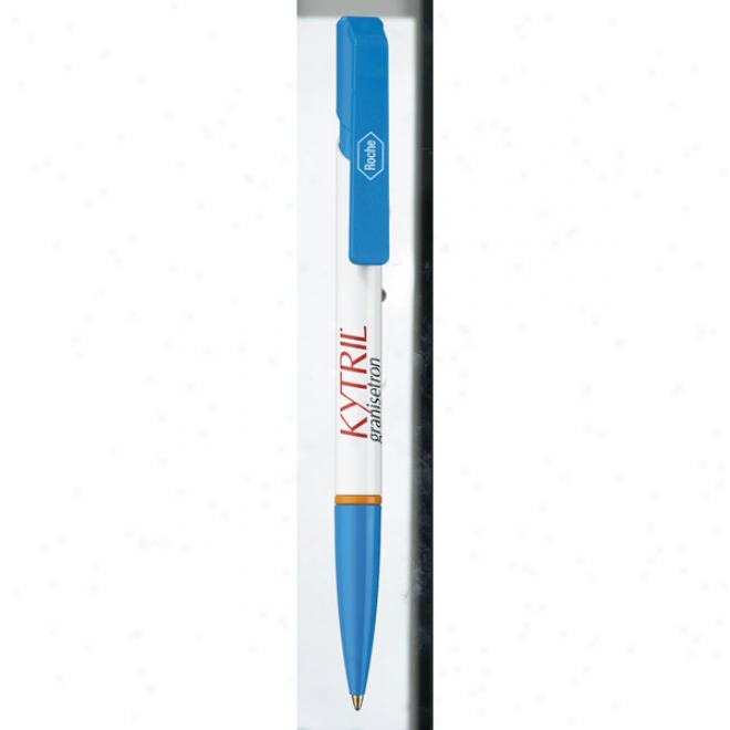 Klio Eterna Eufo R Ring - Pen With Black, Medium Point Ink Cartridge And Solid Color Customizable Components