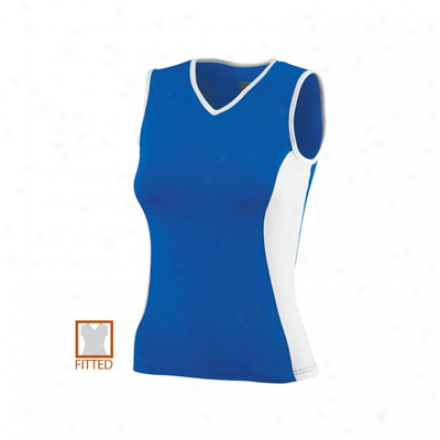 Ladies Poly Spandex Sleeveless Top