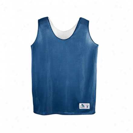 Ladies Tricot Mesh Reversible Tank