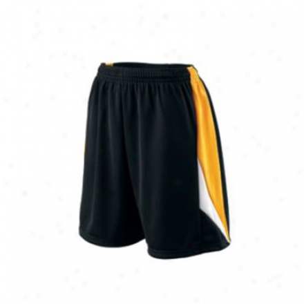 Ladies Wicking Duo Knit Attack Short