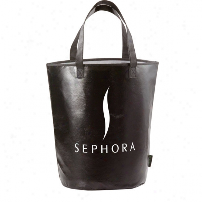 Laminsted Non-woven Basket Tote