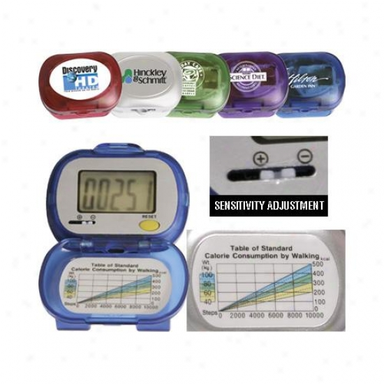 Large Finger's breadth Single Function Digital Pedometer