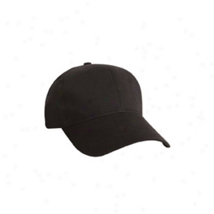 Lightweight Brushed Twill Cap
