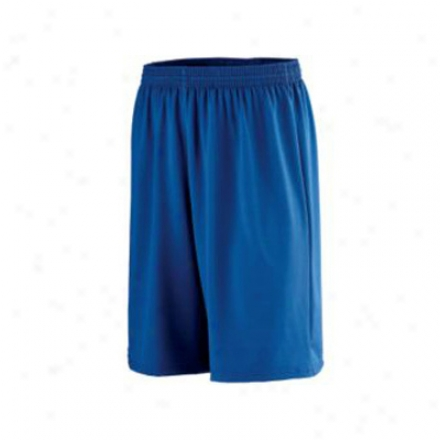 Longer Length Poly Spandex Short