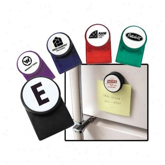 Magnetic Memo Clip With White Push Button, Holds Up To 25 Sheets Of Dissertation