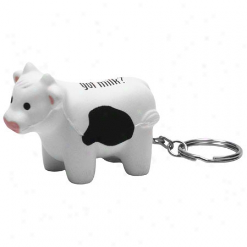 Milk Cow Key Chain