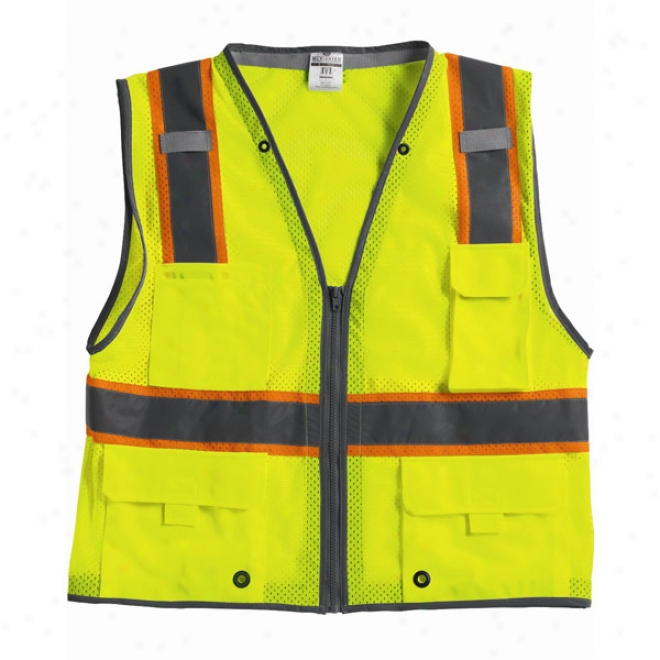 Ml Kishigo - Brilliant Series Heay Duty Class 2 Vest