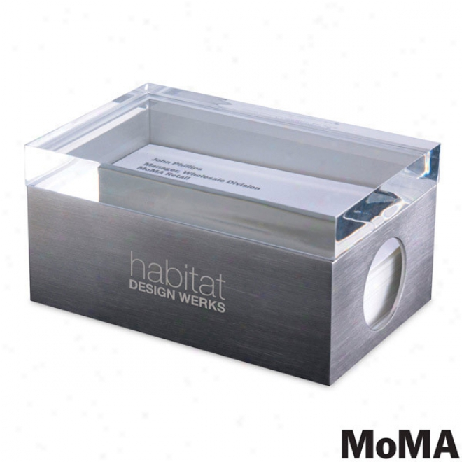 Moma Paage 1 Business Card Box