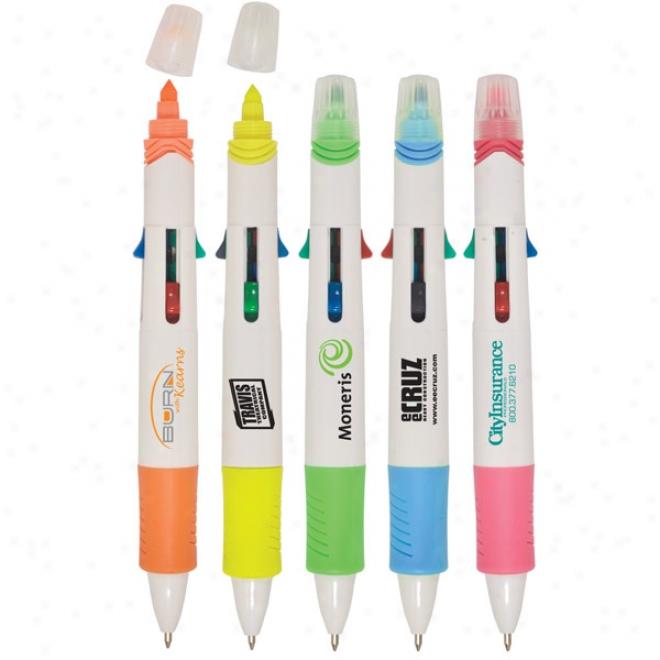Multi-tasker Pen Highlighter