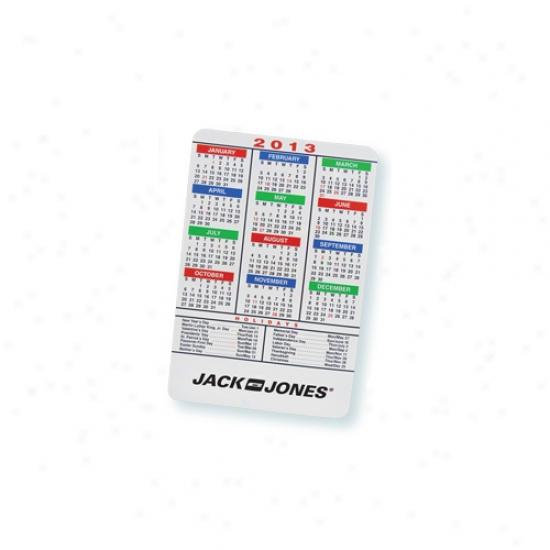 Multicolor Magnetic Calendar