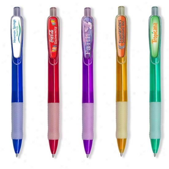 Myrtle Domed Click Pen