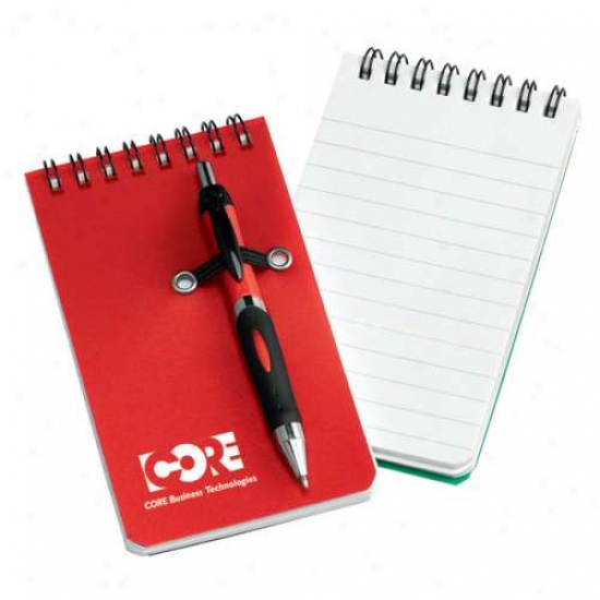 Nerde Mini Pocket Notebook W/pen