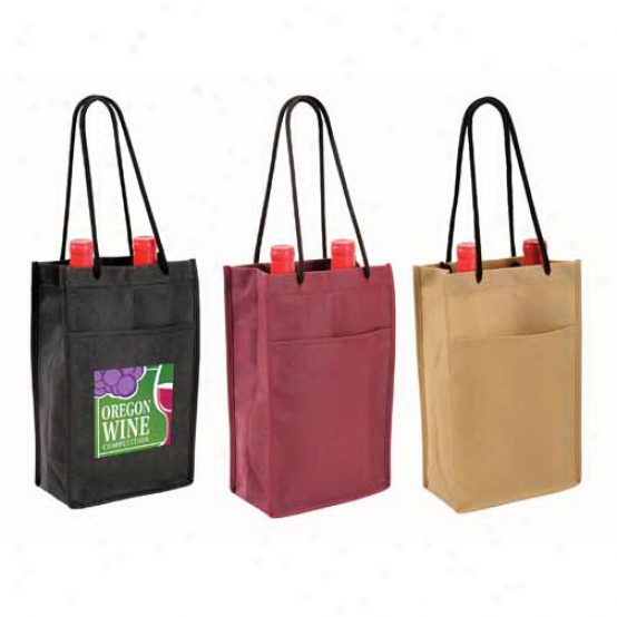 Non-woven Double Bottle Win3 Bag, Abounding Color Digital