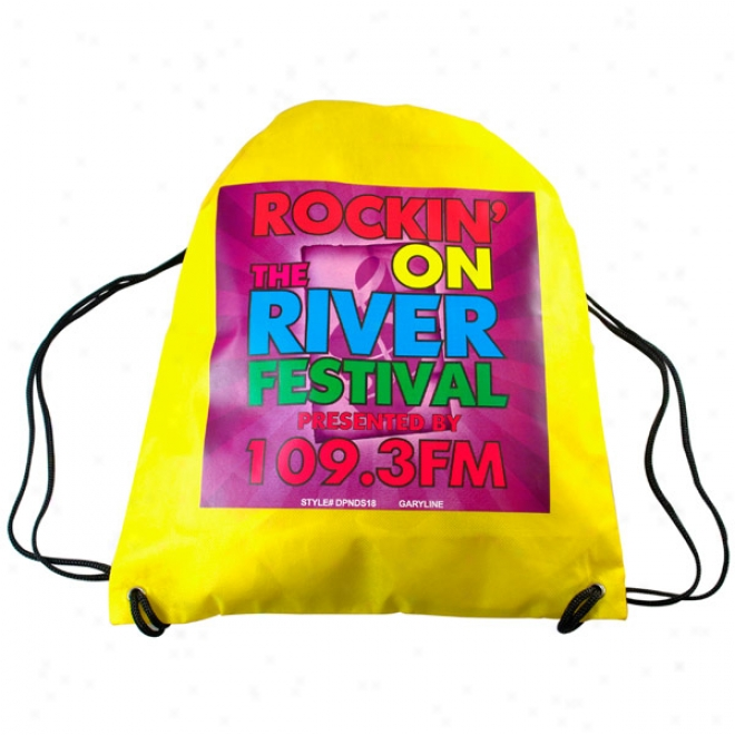 Non-woven Drawstring Backpack - 4c Digit