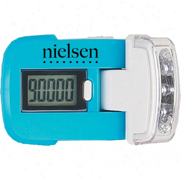 Pedometer With Candle That Keeps Track Of Steps