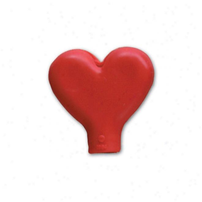 Pencil Top Stock Eraser- Heart