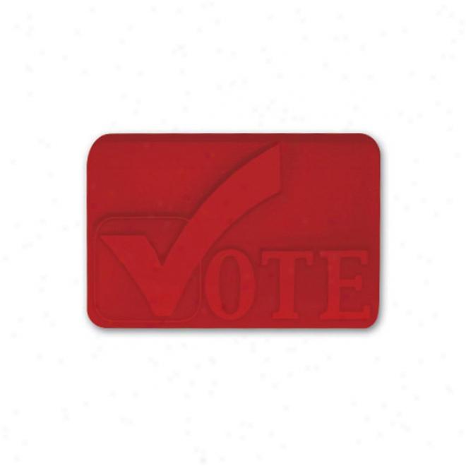 Pencil Top Stock Eraser- Vote